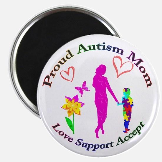 Proud Autism Mom Magnet