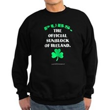Pubs. Official Sunblock of Ireland Sweatshirt