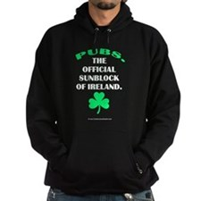Pubs. Official Sunblock of Ireland Hoodie