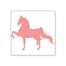 American Saddlebred - Pink pattern Sticker