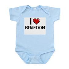 I Love Braedon Body Suit