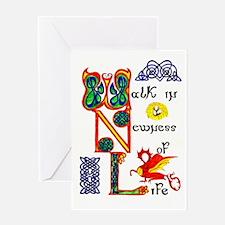 Walk in Newness SINGLE greeting card