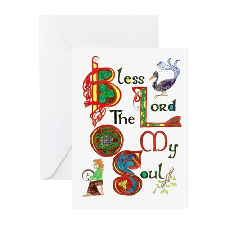 Bless greeting cards (Pk of 10)