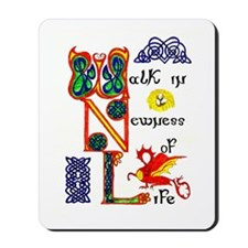 Walk in Newness mousepad