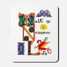 Walk in Newness mousepad