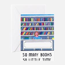 Cute Blogging Greeting Card