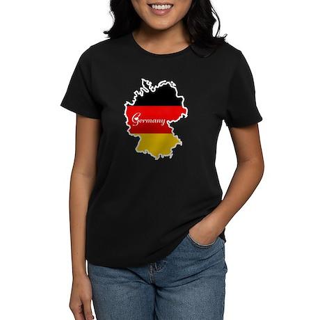 Cool Germany Women's Dark T-Shirt