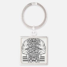 Surreal DUALITY Square Keychain