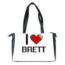 I Love Brett Diaper Bag