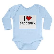I Love Broderick Body Suit