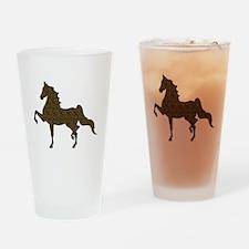 American Saddlebred - Leopard Drinking Glass