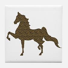 American Saddlebred - Leopard Tile Coaster