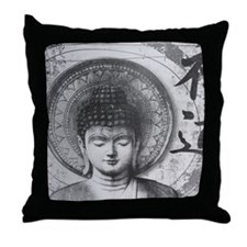 Cute Pray for peace Throw Pillow