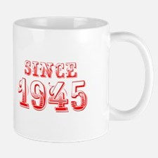 SINCE 1945-Bod red 300 Mugs