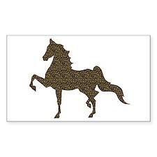 American Saddlebred - Leopard Bumper Stickers