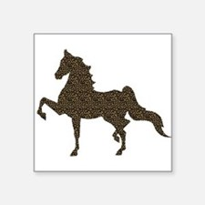 American Saddlebred - Leopard Sticker