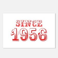 SINCE 1956-Bod red 300 Postcards (Package of 8)