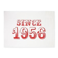 SINCE 1956-Bod red 300 5'x7'Area Rug