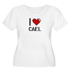 I Love Cael Plus Size T-Shirt
