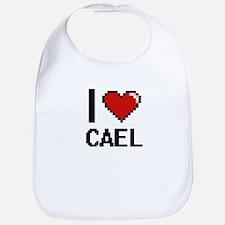 I Love Cael Bib