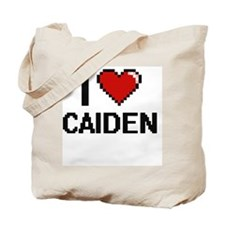 I Love Caiden Tote Bag