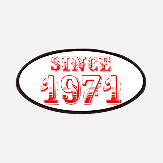 SINCE 1971-Bod red 300 Patch