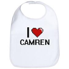 I Love Camren Bib