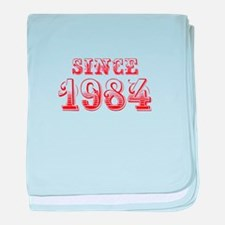 SINCE 1984-Bod red 300 baby blanket