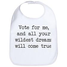 Vote For Me (blk) - Napoleon Bib