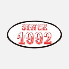 SINCE 1992-Bod red 300 Patch