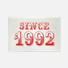 SINCE 1992-Bod red 300 Magnets