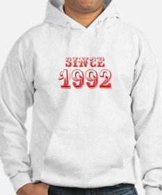 SINCE 1992-Bod red 300 Hoodie