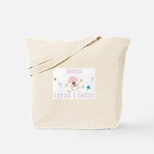 Selena turns 1 today Tote Bag
