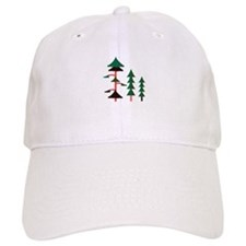 Forest Trees Baseball Baseball Cap