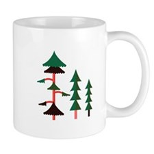 Forest Trees Mugs