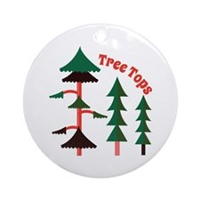 Tree Tops Ornament (Round)