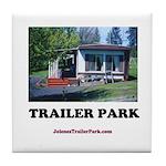 Trailer Park (Brand) Tile Coaster