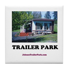 Trailer Park (Brand) Tile Coaster