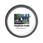 Trailer Park (Brand) Wall Clock