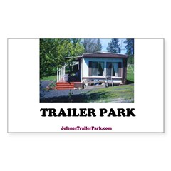 Trailer Park (Brand) Rectangle Decal