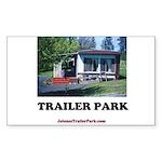 Trailer Park (Brand) Rectangle Sticker