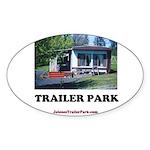 Trailer Park (Brand) Oval Sticker