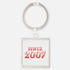 SINCE 2007-Bod red 300 Keychains