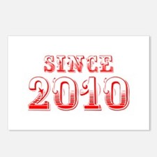 SINCE 2011-Bod red 300 Postcards (Package of 8)