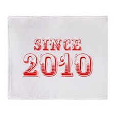 SINCE 2011-Bod red 300 Throw Blanket