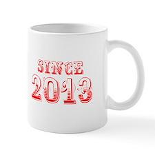 SINCE 2013-Bod red 300 Mugs