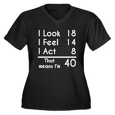 That Means Im 40 Plus Size T-Shirt