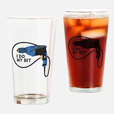I Do My Bit Drinking Glass
