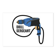 Drill Sergeant Postcards (Package of 8)