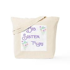 Big Sister Ruby Tote Bag